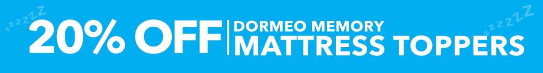 20% off Dormeo Toppers
