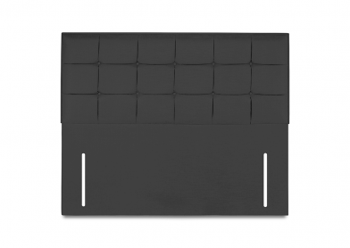 Castello Headboard, King, Midnight Black