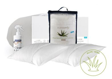 Evercomfy Aloe Vera Complete Bedding Bundle