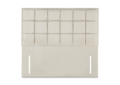 Loire Headboard, Double, White Sand