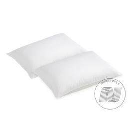 Evercomfy Silver Pillows Pair