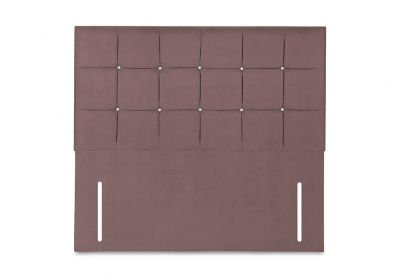 Burgundy Headboard, Single, Velvet Blush