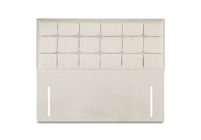 Castello Headboard, Double, White Sand
