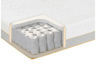 Dormeo Options Hybrid Latex Mattress, Super King