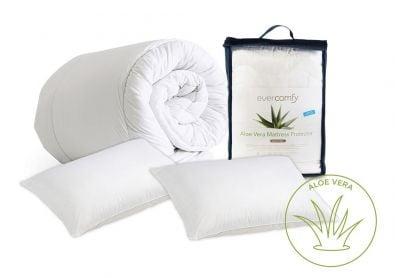 Evercomfy Aloe Vera Bedding Bundle