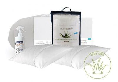 Evercomfy Aloe Vera Complete Bedding Bundle