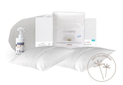 Evercomfy Anti-Allergy Complete Bedding Bundle