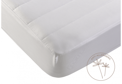 Evercomfy Anti-Allergy Mattress Protector, Double