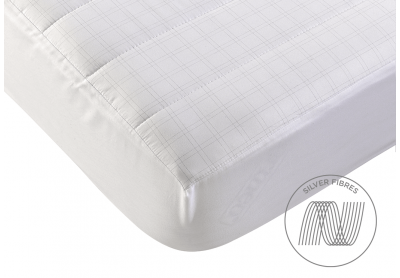 Evercomfy Silver Mattress Protector, Double