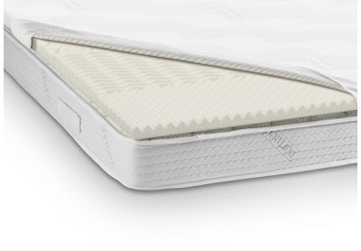 Dormeo Fresh Zoned Mattress Topper, Super King