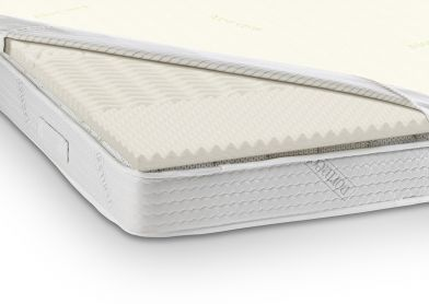 Dormeo Aloe Vera Zoned Mattress Topper, Double