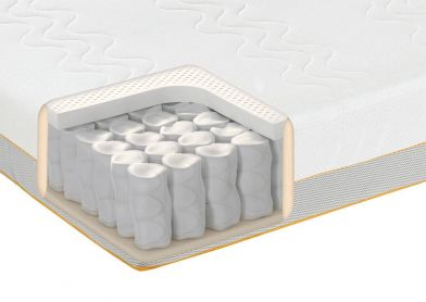 Dormeo Options Hybrid Latex Mattress, Double