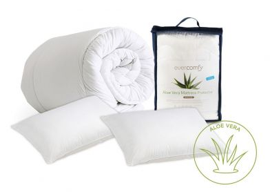 Evercomfy Aloe Vera Bedding Bundle