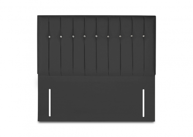 Revive Headboard, Double, Midnight Black