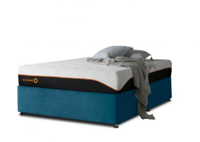 Tiffany Divan Bed, Double, 2 Drawers, Velvet Teal