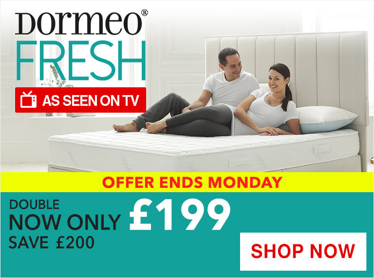 Dormeo Fresh Memory Foam Mattress Sale