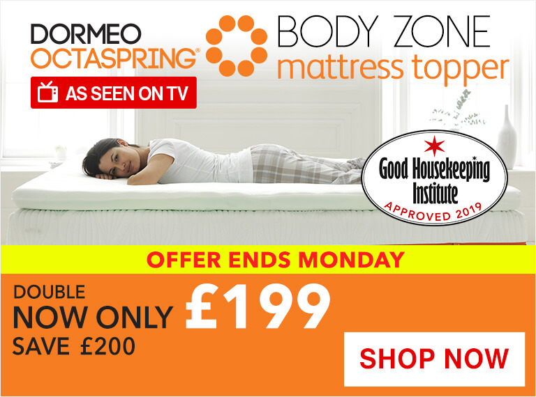 Octaspring Body Zone Mattress Topper Sale
