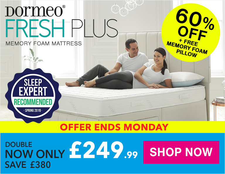 Dormeo Fresh Plus Memory Foam Mattress