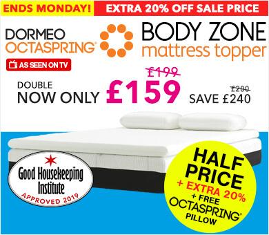 dormeo select hybrid plus mattress double. Black Bedroom Furniture Sets. Home Design Ideas