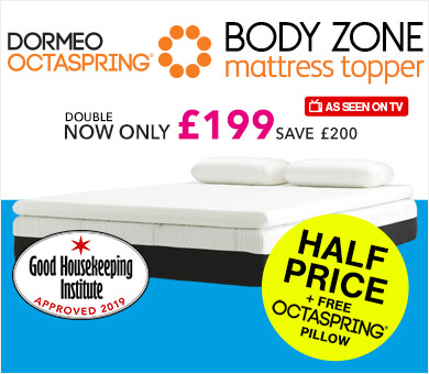 Mattress Toppers With 5 Reviews Buy Online Dormeo Uk