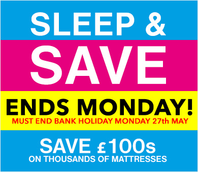 Sleep & Save Mattress Sale