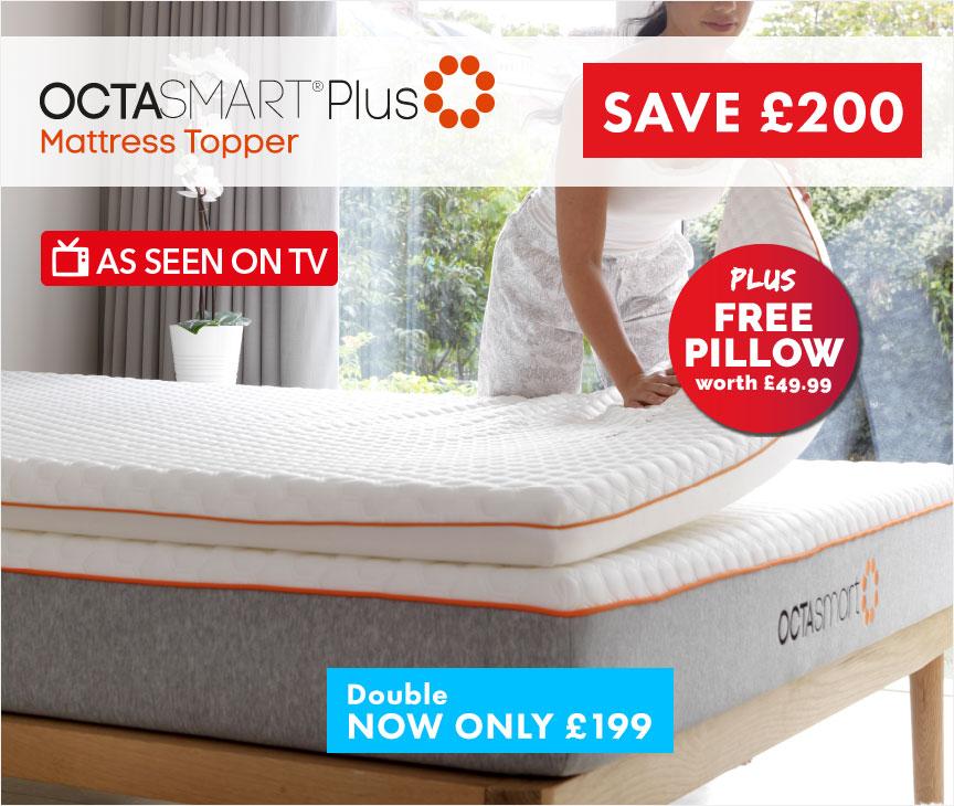 Octasmart Plus Mattress Topper Sale