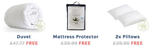Free Bedding Bundle