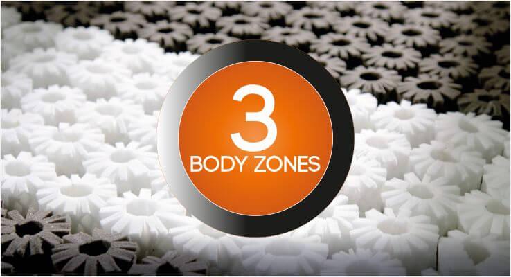 3 Body Zones