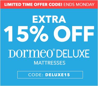 DELUXE15 Mattress Sale Code
