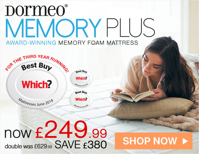 Dormeo Memory Plus Memory Foam Mattress