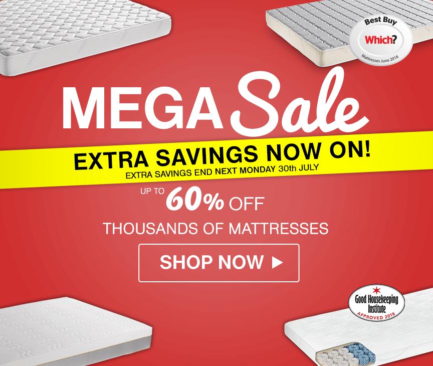 Sleep & Save Mattress Sale