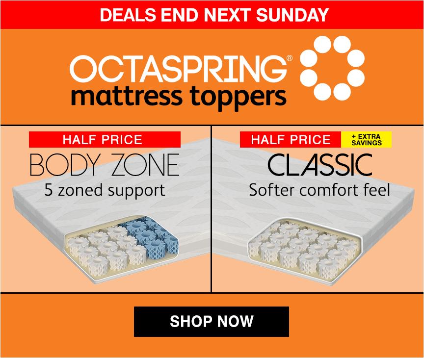Octaspring Mattress Topper Sale