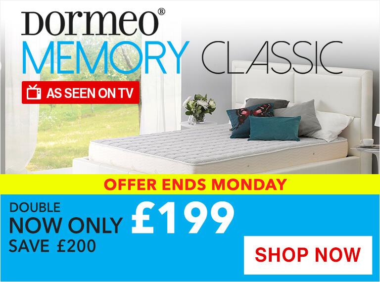 Dormeo Memory Classic Memory Foam Mattress Sale