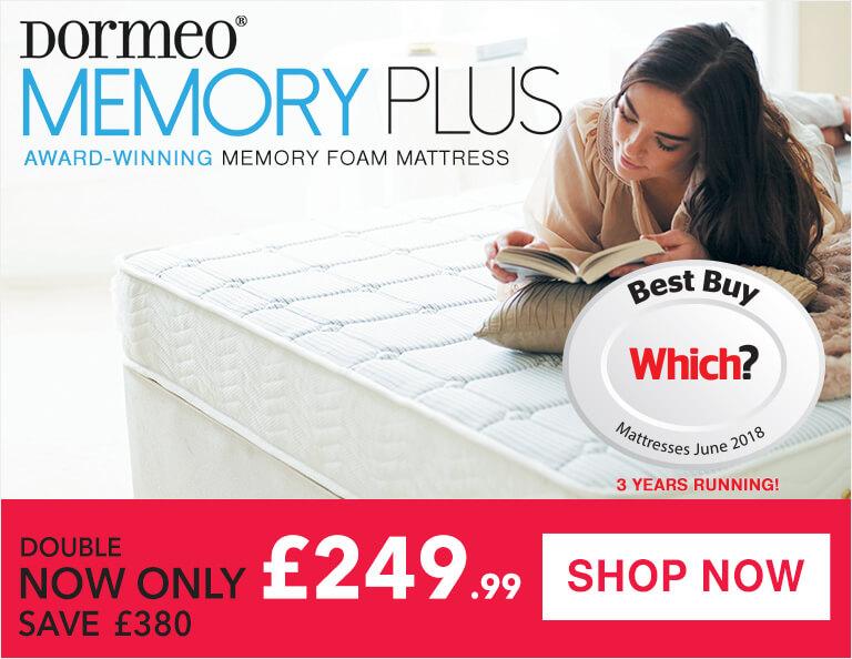Dormeo Memory Plus Memory Foam Mattress Sale