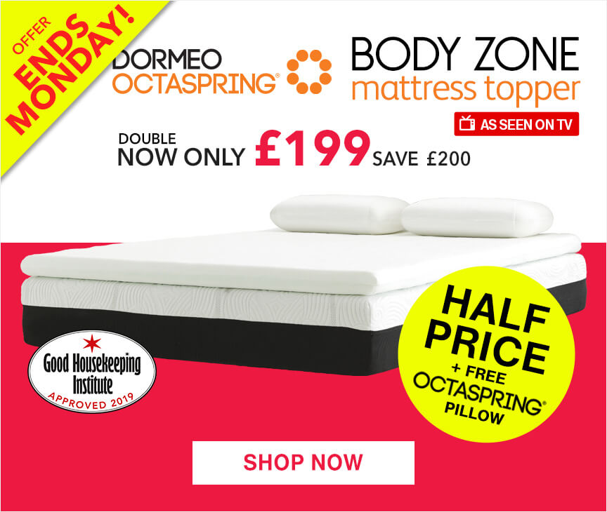 Octaspring Body Zone Mattress Topper Sale