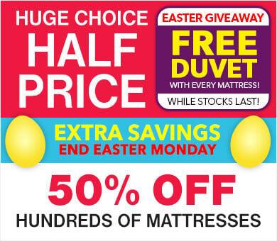 Half Price Mattress Sale
