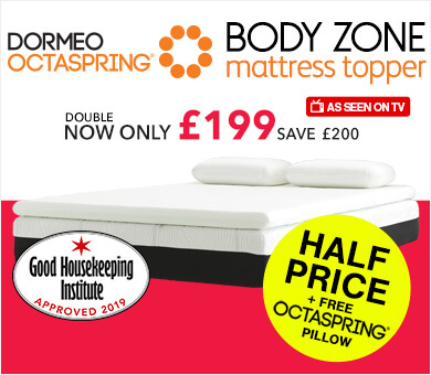 Octaspring Body Zone Mattress Topper