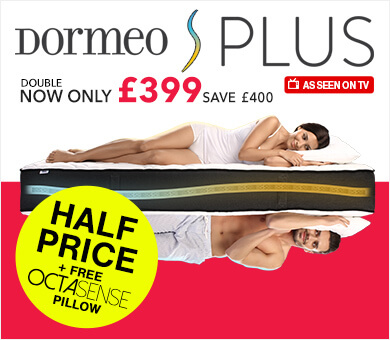Dormeo S Plus Memory Foam Mattress Sale
