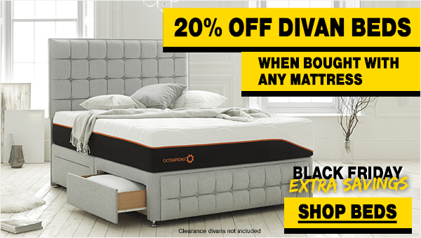 Black Friday Divan Bed Sale